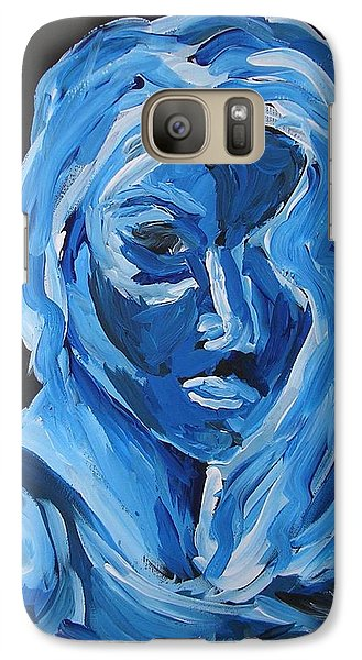 Galaxy Case featuring the painting Lindsay by Joshua Redman