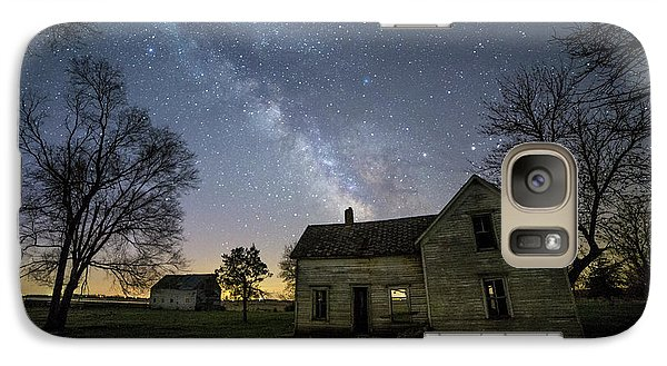 Galaxy Case featuring the photograph Linear by Aaron J Groen