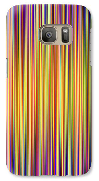Galaxy Case featuring the digital art Lines 102 by Bruce Stanfield