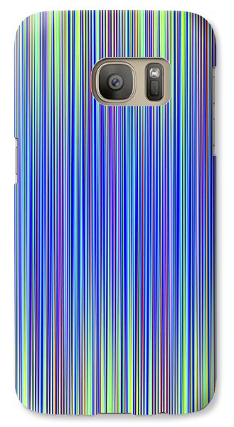 Galaxy Case featuring the digital art Lines 103 by Bruce Stanfield