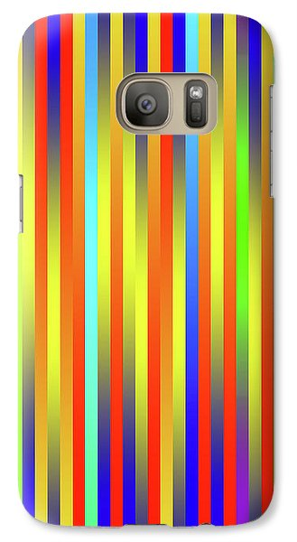 Galaxy Case featuring the digital art Lines 17 by Bruce Stanfield