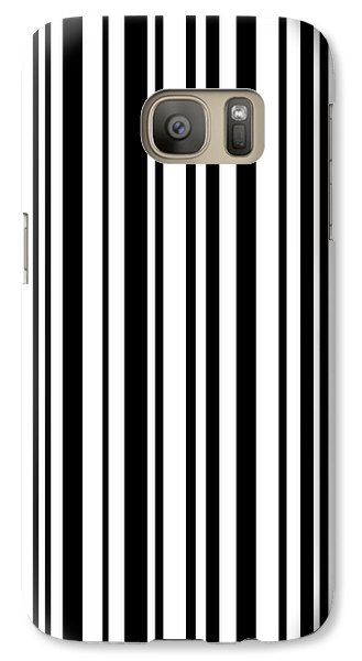 Galaxy Case featuring the digital art Lines 7 by Bruce Stanfield
