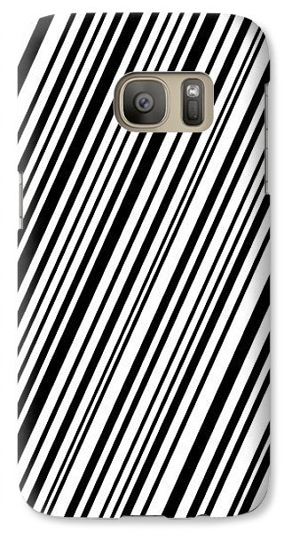 Galaxy Case featuring the digital art Lines 7 Diag by Bruce Stanfield