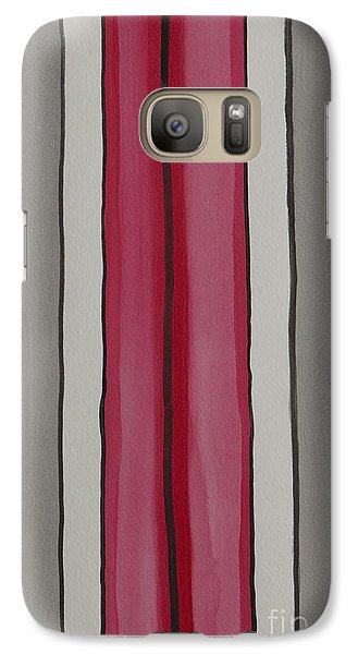 Galaxy Case featuring the painting Lines by Jacqueline Athmann