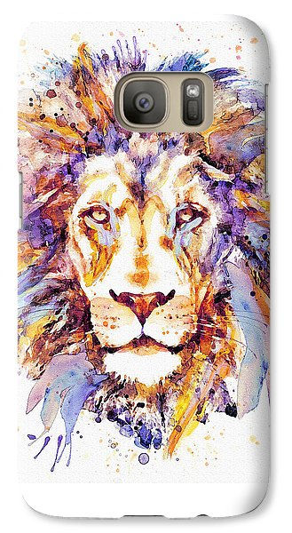 Lion Head Galaxy S7 Case