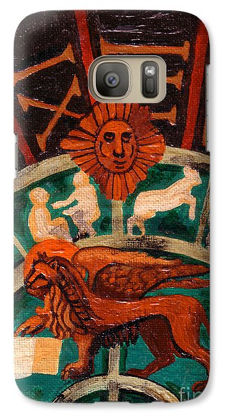Galaxy Case featuring the painting Lion Of St. Mark by Genevieve Esson