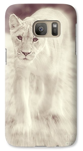 Lion Spirit Animal Galaxy S7 Case