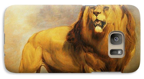 Lion  Galaxy Case by William Huggins