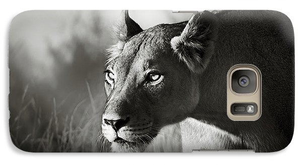 Animals Galaxy S7 Case - Lioness Stalking by Johan Swanepoel