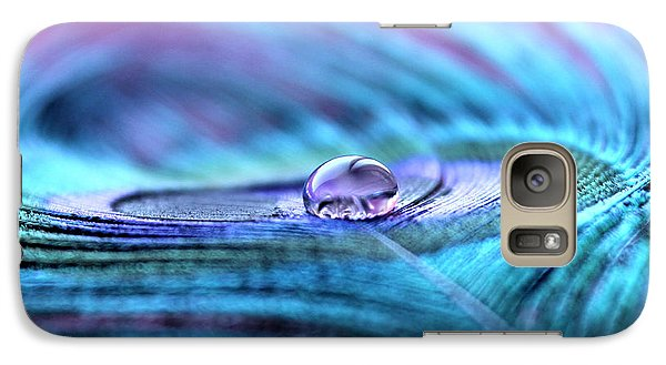 Peacock Galaxy S7 Case - Liquid Bliss by Krissy Katsimbras