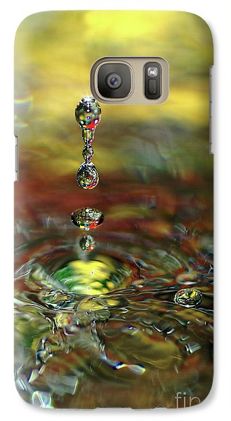 Liquid Ornaments By Kaye Menner Galaxy S7 Case by Kaye Menner