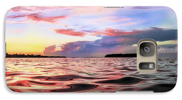 Liquid Red Galaxy S7 Case