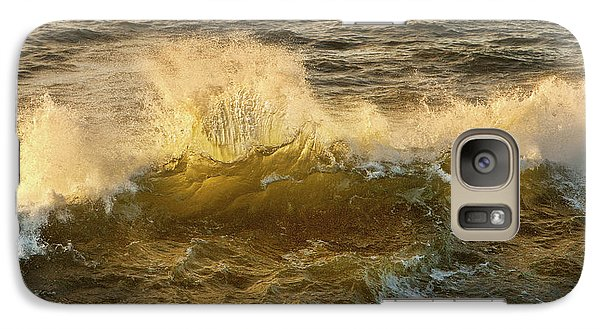 Galaxy Case featuring the photograph Liquid Sunbeam by Mary Jo Allen