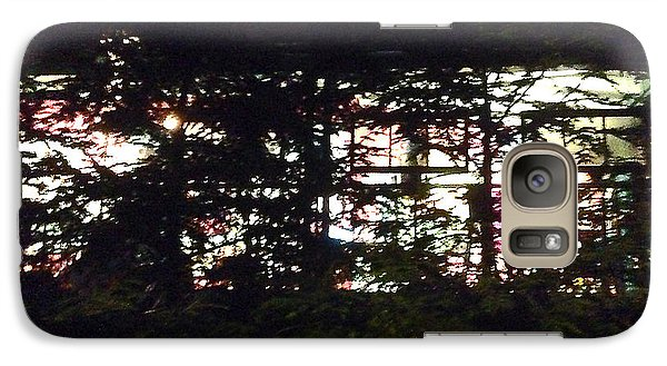 Galaxy Case featuring the photograph Lit Like Stained Glass by Felipe Adan Lerma