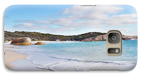 Galaxy Case featuring the photograph Little Beach, Australia by Ivy Ho