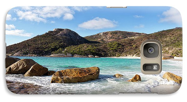 Galaxy Case featuring the photograph Little Beach Two Peoples Bay Nature Reserve by Ivy Ho