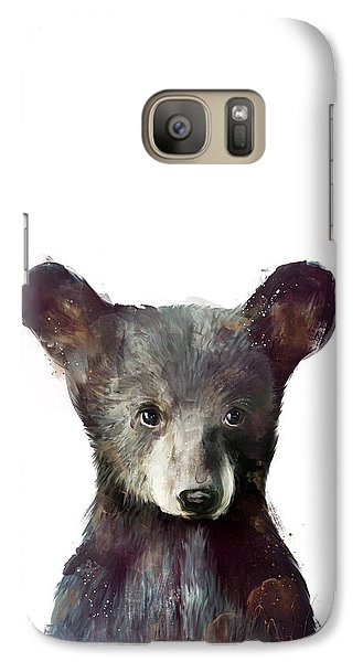 Little Bear Galaxy Case by Amy Hamilton