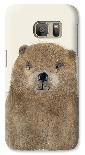 Galaxy Case featuring the painting Little Beaver by Bri B
