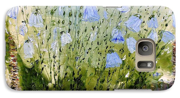 Galaxy Case featuring the painting Little Bells by Evelina Popilian