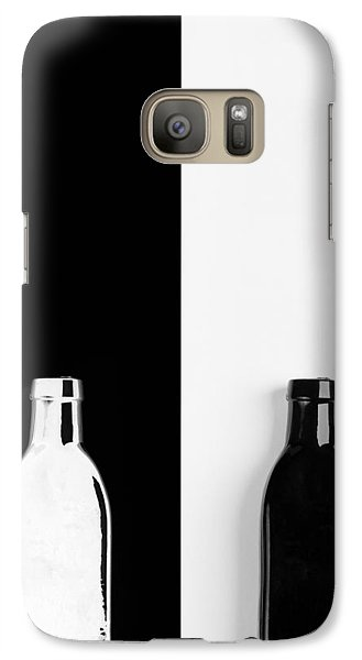 Galaxy Case featuring the photograph Little Black  Bottle by Andrey  Godyaykin