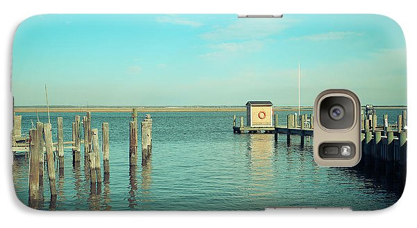 Galaxy Case featuring the photograph Little Boat House On The River by Colleen Kammerer