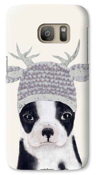 Galaxy Case featuring the painting Little Boston Deer by Bri B