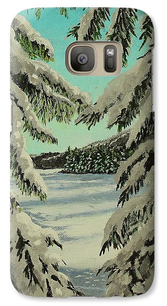 Little Brook Cove Galaxy S7 Case