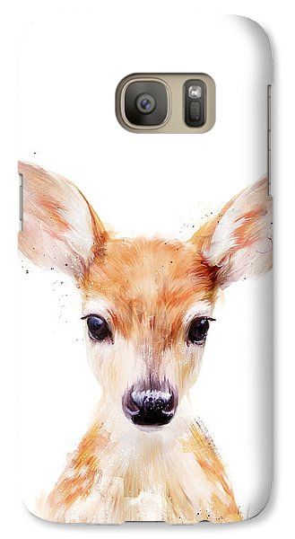 Little Deer Galaxy S7 Case by Amy Hamilton