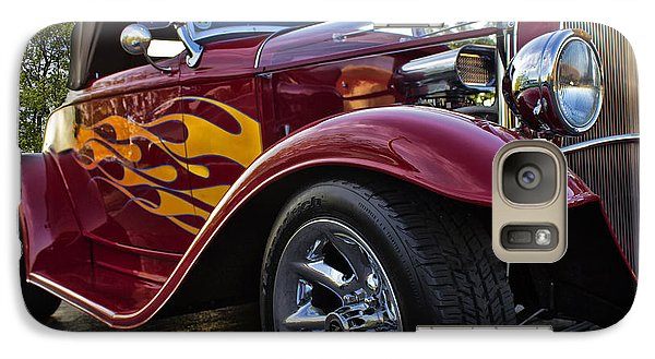 Galaxy Case featuring the photograph Little Deuce Coupe by Skip Tribby