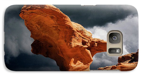 Galaxy Case featuring the photograph Little Finland Nevada 8 by Bob Christopher