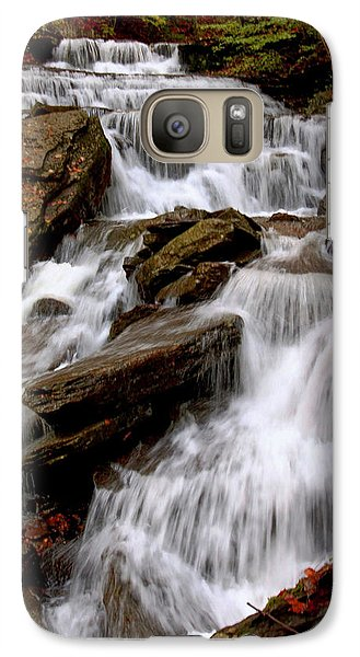 Galaxy Case featuring the photograph Little Four Mile Run Falls by Suzanne Stout