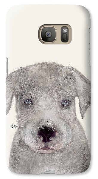 Galaxy Case featuring the painting Little Great Dane by Bri B