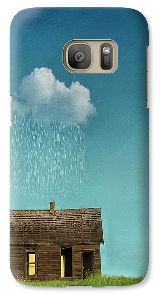 Galaxy Case featuring the photograph Little House Of Sorrow by Juli Scalzi