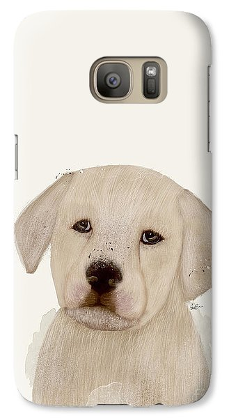 Galaxy Case featuring the painting Little Labrador by Bri B