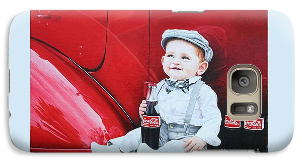Galaxy Case featuring the painting Little Mason by Mike Ivey