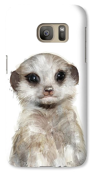Little Meerkat Galaxy S7 Case by Amy Hamilton