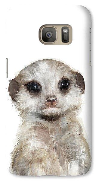 Little Meerkat Galaxy S7 Case by Amy Hamilton