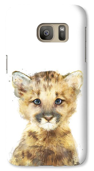 Little Mountain Lion Galaxy S7 Case by Amy Hamilton