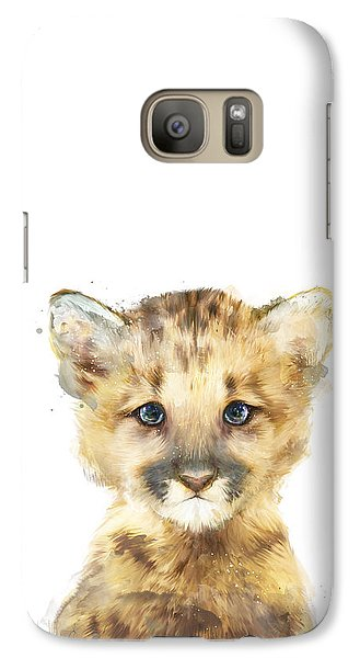 Mountain Galaxy S7 Case - Little Mountain Lion by Amy Hamilton