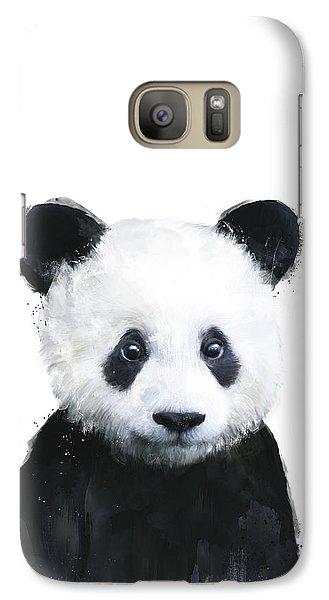Little Panda Galaxy S7 Case by Amy Hamilton
