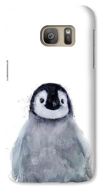 Penguin Galaxy S7 Case - Little Penguin by Amy Hamilton