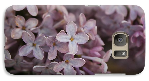 Galaxy Case featuring the photograph Little Pink Stars by Christin Brodie