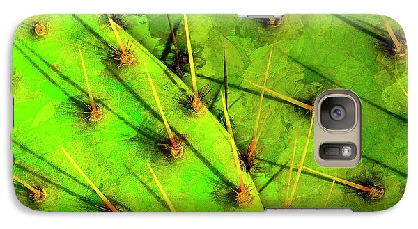 Galaxy Case featuring the photograph Prickly Pear by Paul Wear