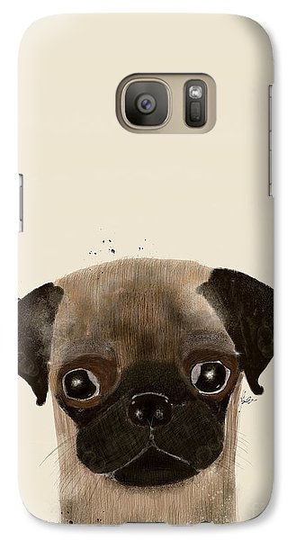 Galaxy Case featuring the photograph Little Pug by Bri B
