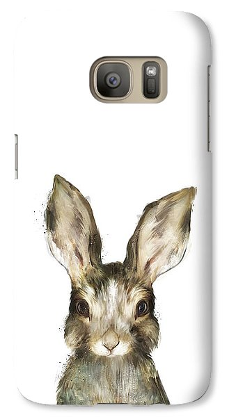 Little Rabbit Galaxy Case by Amy Hamilton