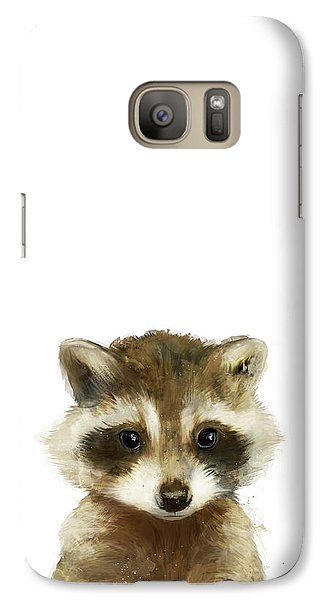 Little Raccoon Galaxy Case by Amy Hamilton