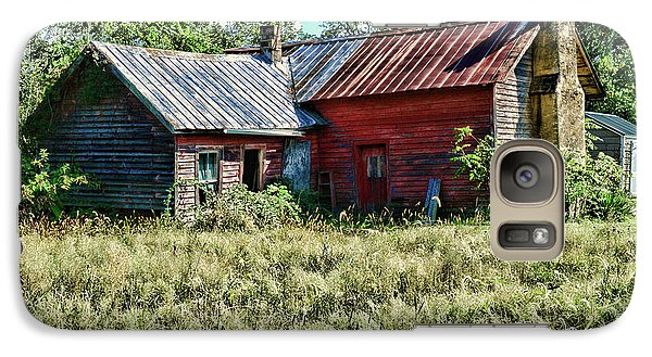 Galaxy Case featuring the photograph Little Red Farmhouse by Paul Ward