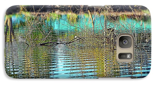 Galaxy Case featuring the photograph Little Ripples By Kaye Menner by Kaye Menner