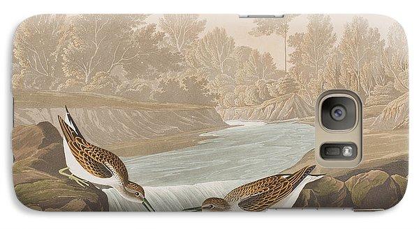Little Sandpiper Galaxy S7 Case by John James Audubon