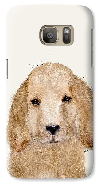 Galaxy Case featuring the painting Little Spaniel by Bri B